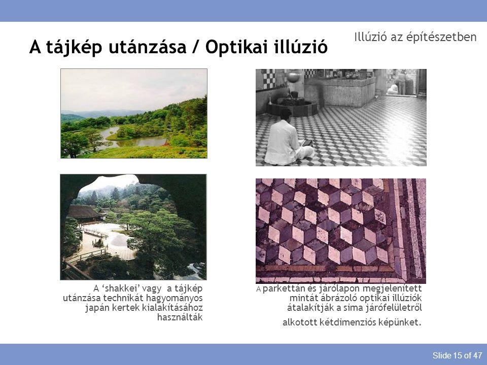 Illúzió az építészetben