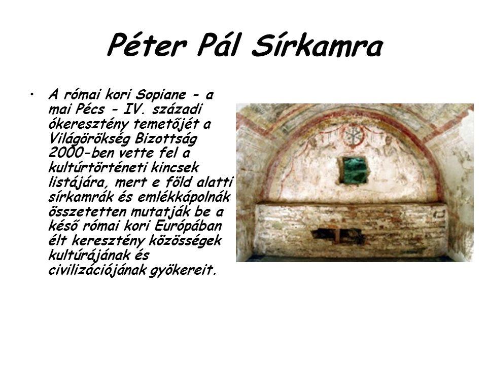 Péter Pál Sírkamra
