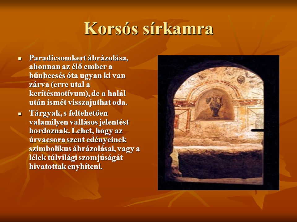 Korsós sírkamra