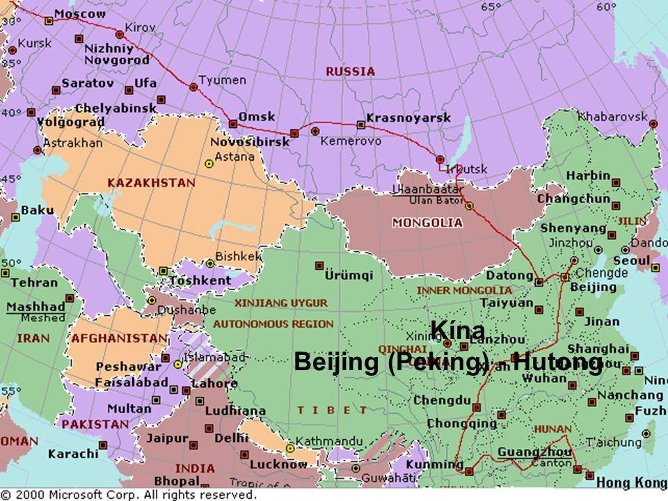 Kína Beijing (Peking) - Hutong