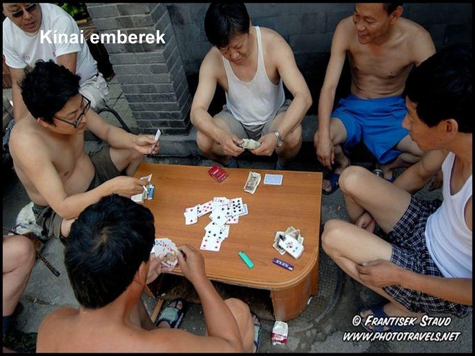 Kínai emberek