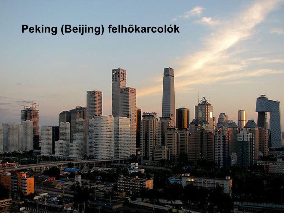 Peking (Beijing) felhőkarcolók