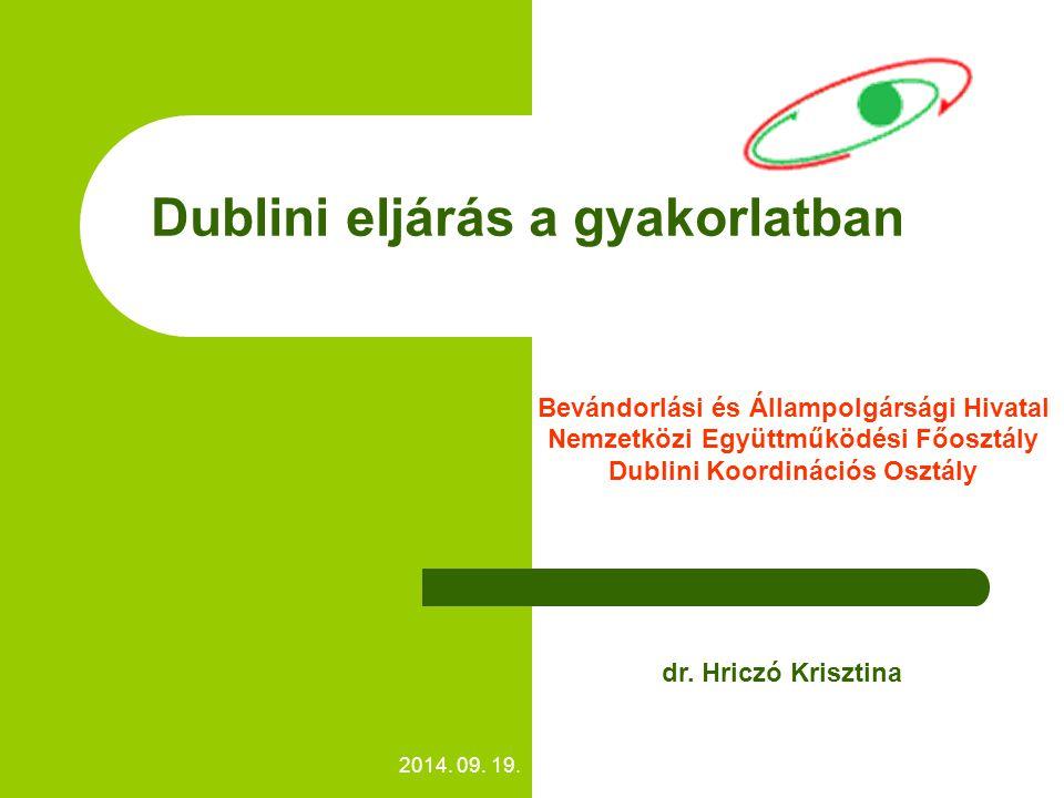 Dublini eljárás a gyakorlatban