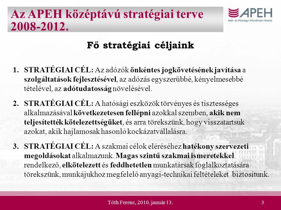 Fő stratégiai céljaink