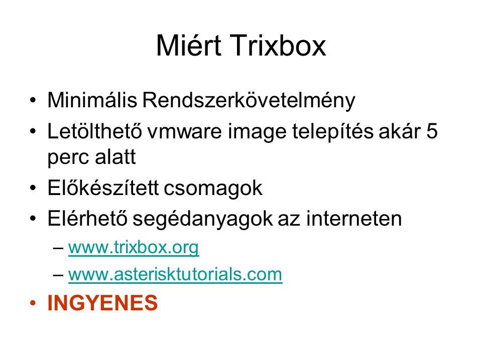 Miért Trixbox Minimális Rendszerkövetelmény