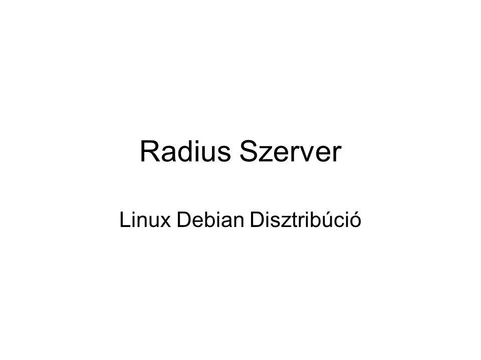 Linux Debian Disztribúció