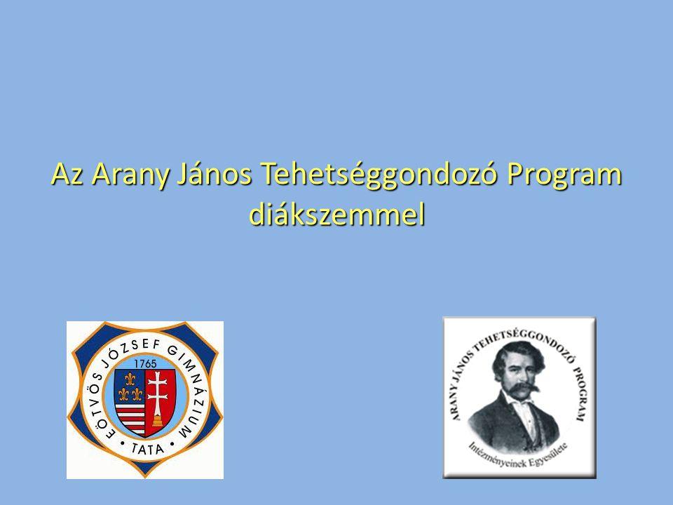 Az Arany János Tehetséggondozó Program diákszemmel