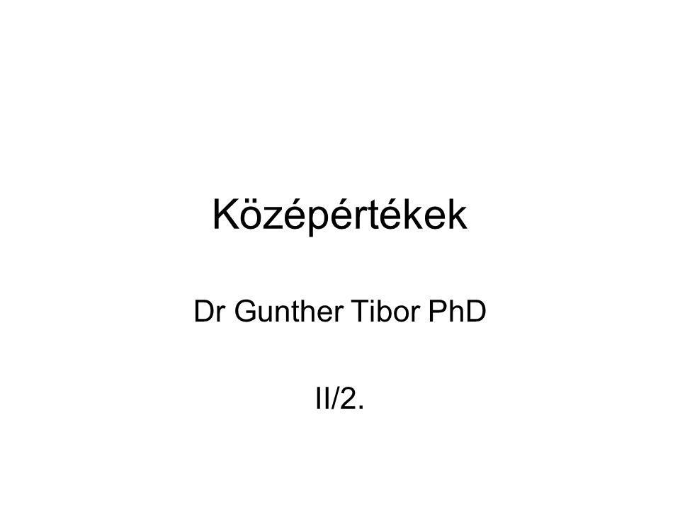 Dr Gunther Tibor PhD II/2.