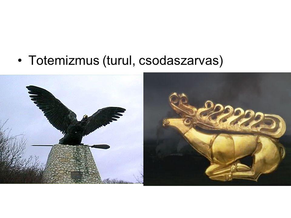 Totemizmus (turul, csodaszarvas)