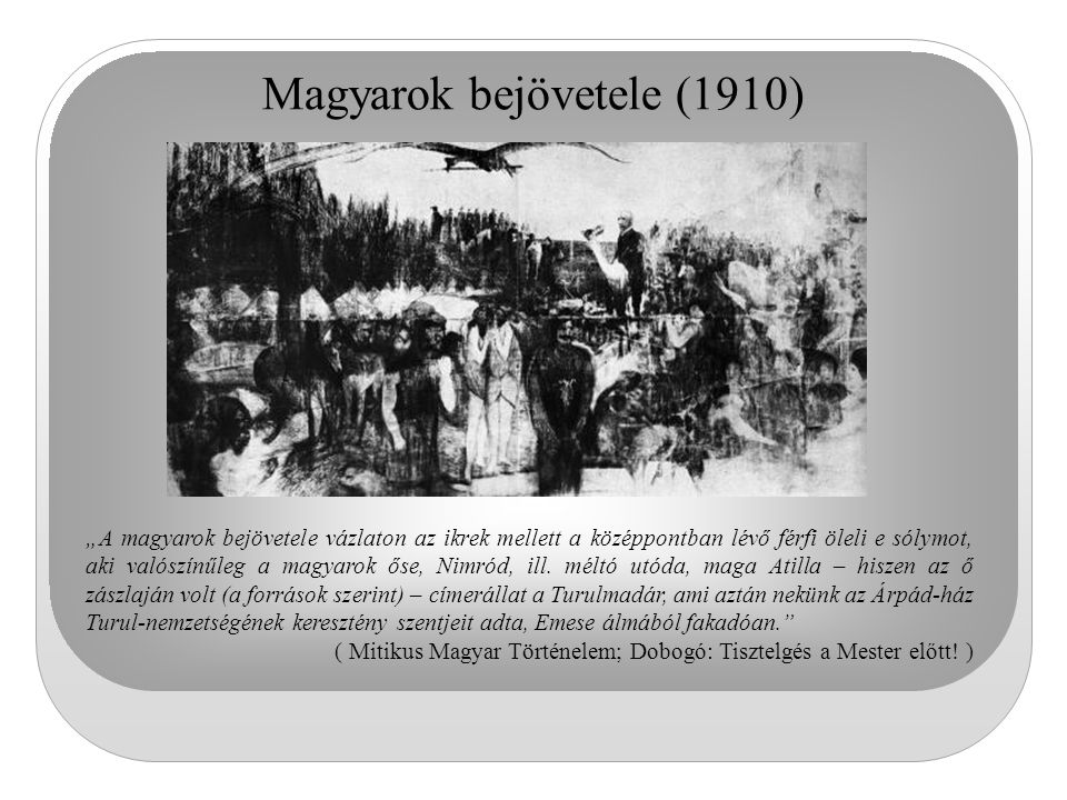 Magyarok bejövetele (1910)