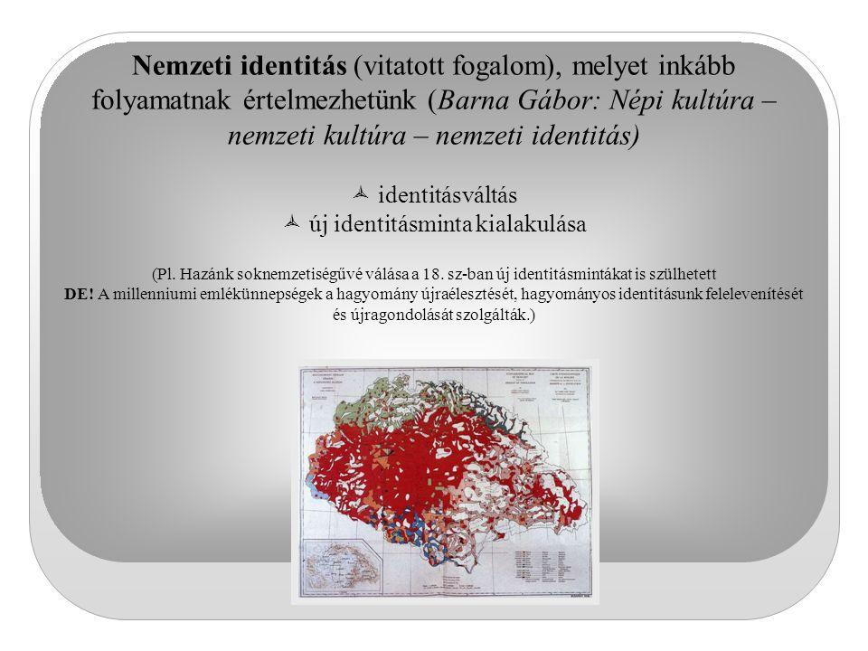 új identitásminta kialakulása