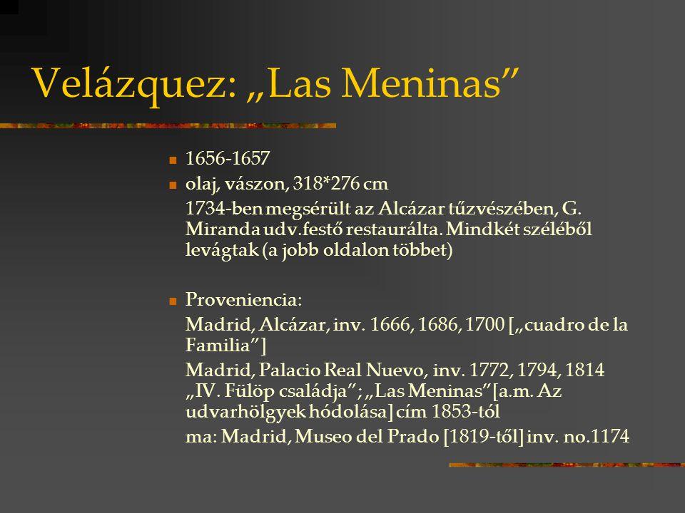 "Velázquez: ""Las Meninas"