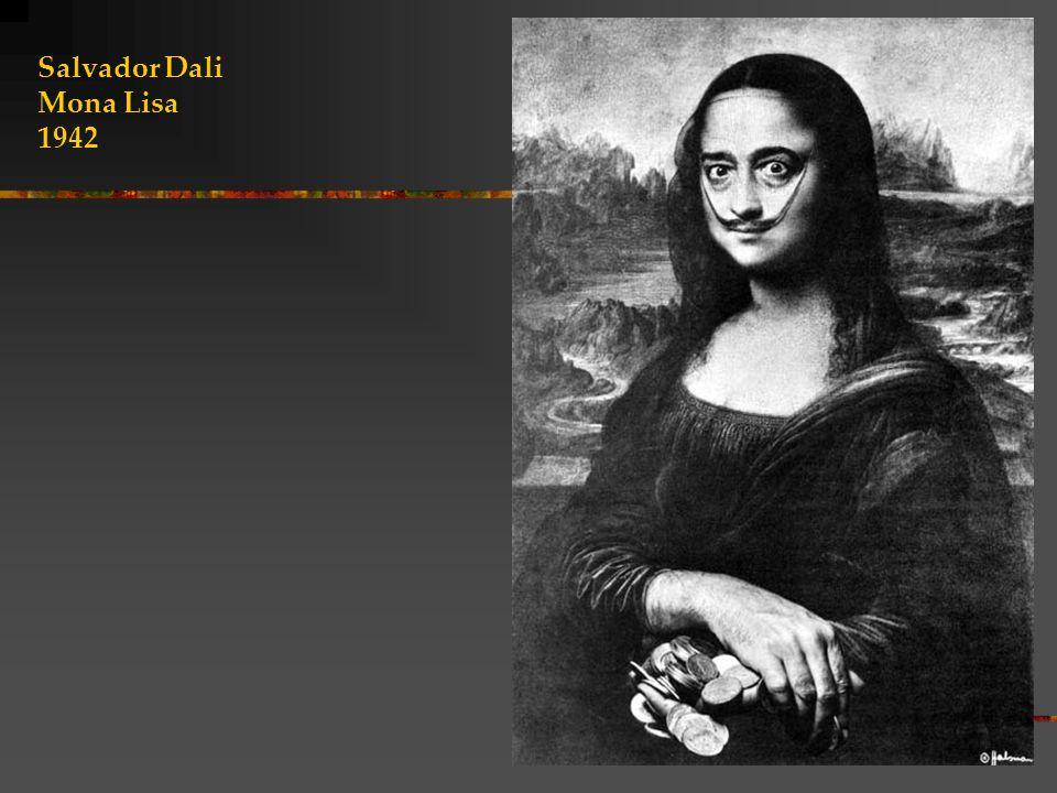 Salvador Dali Mona Lisa 1942