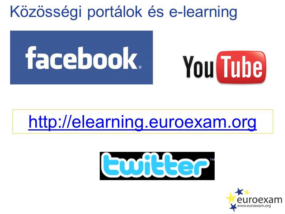 Közösségi portálok és e-learning