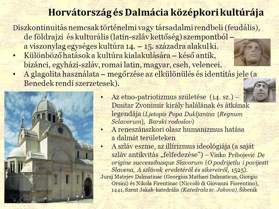 Horvátország és Dalmácia középkori kultúrája