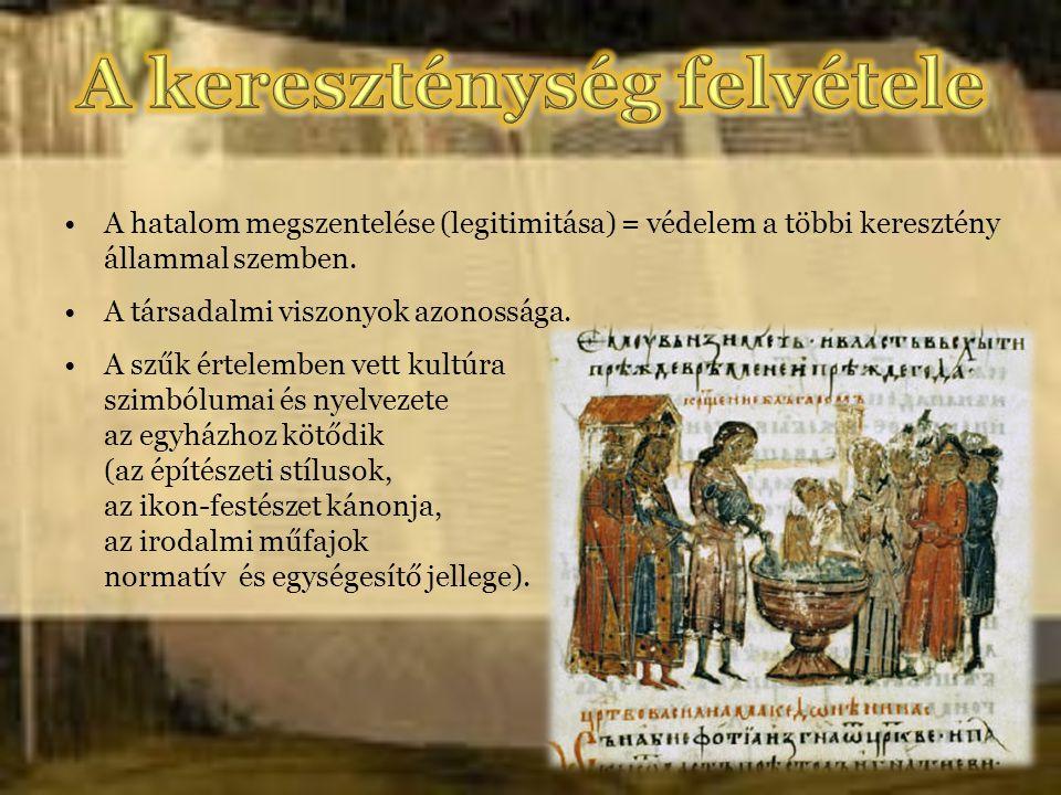 A kereszténység felvétele