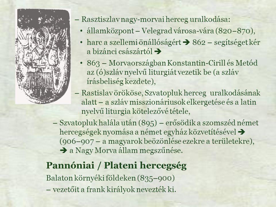 Pannóniai / Plateni hercegség