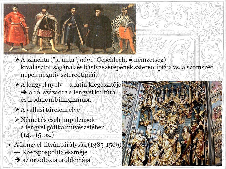 A szlachta ( sljahta , ném