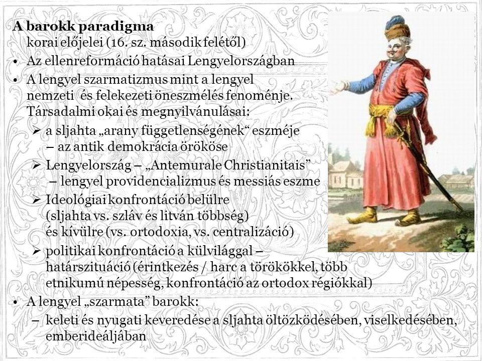 A barokk paradigma korai előjelei (16. sz. második felétől)