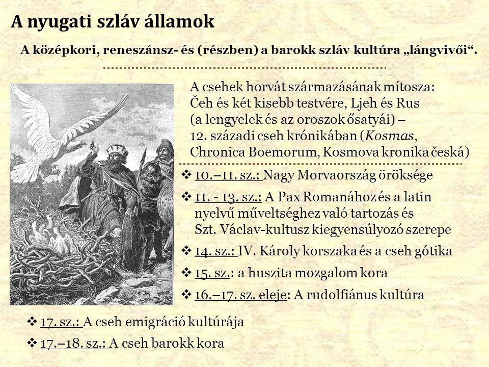 A nyugati szláv államok