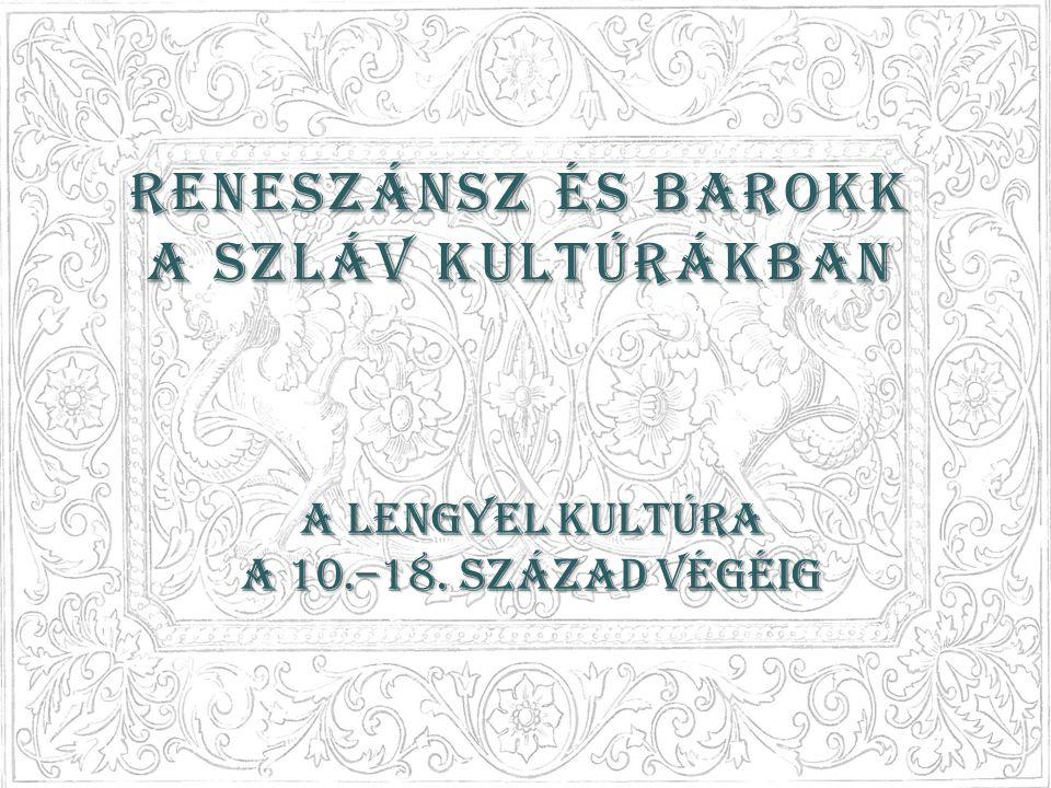 Reneszánsz és barokk a szláv kultúrákban