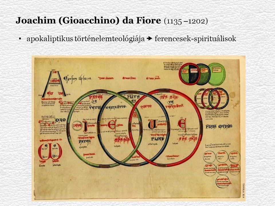 Joachim (Gioacchino) da Fiore (1135 –1202)