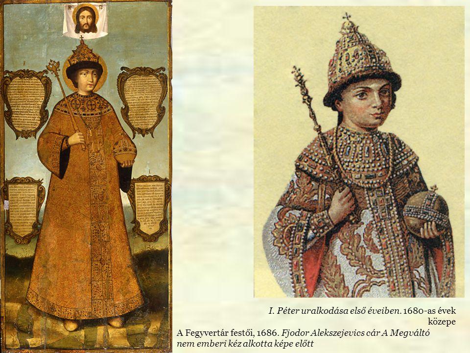I. Péter uralkodása első éveiben. 1680-as évek közepe