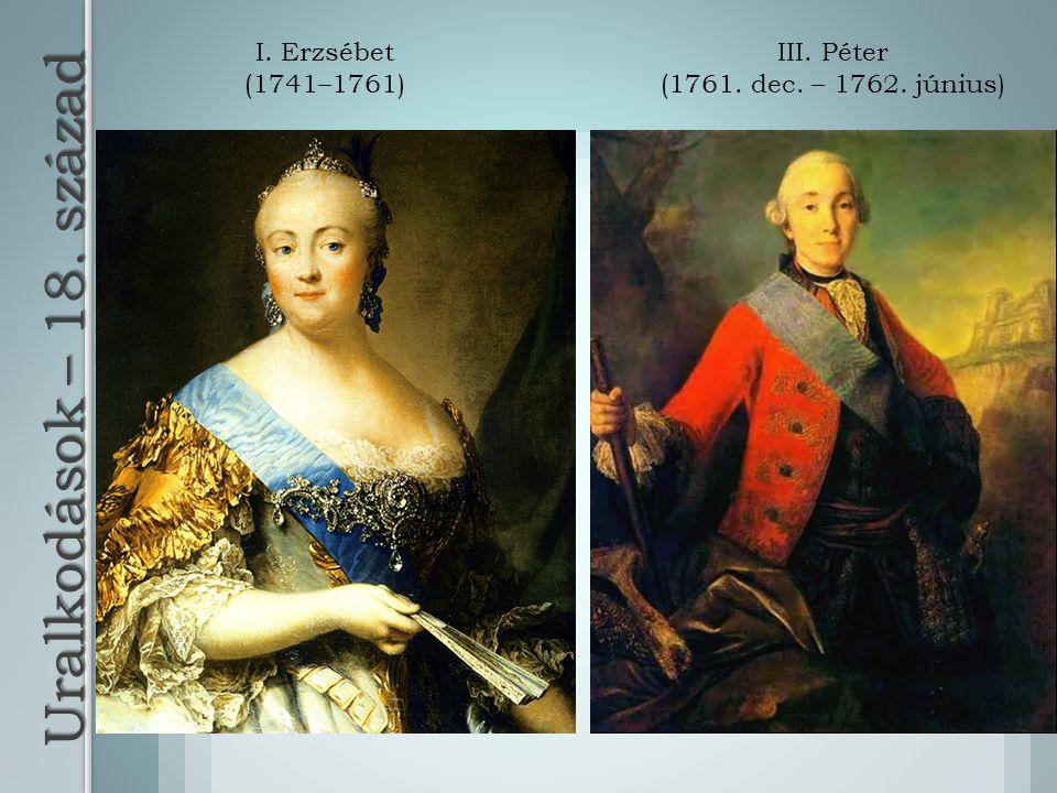 III. Péter (1761. dec. – 1762. június)