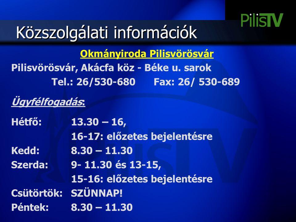Okmányiroda Pilisvörösvár