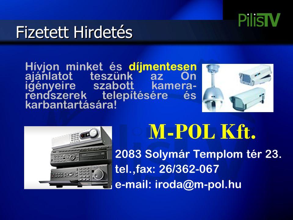 M-POL Kft. Fizetett Hirdetés