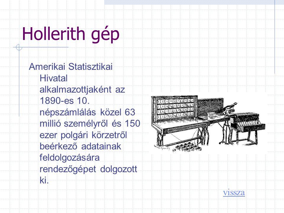 Hollerith gép