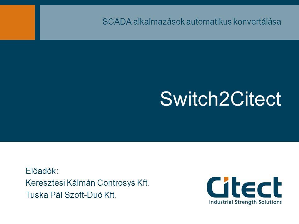 SCADA alkalmazások automatikus konvertálása