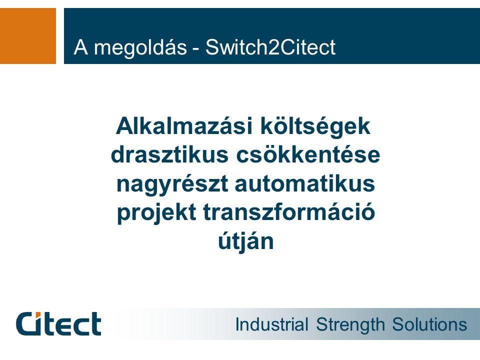 A megoldás - Switch2Citect