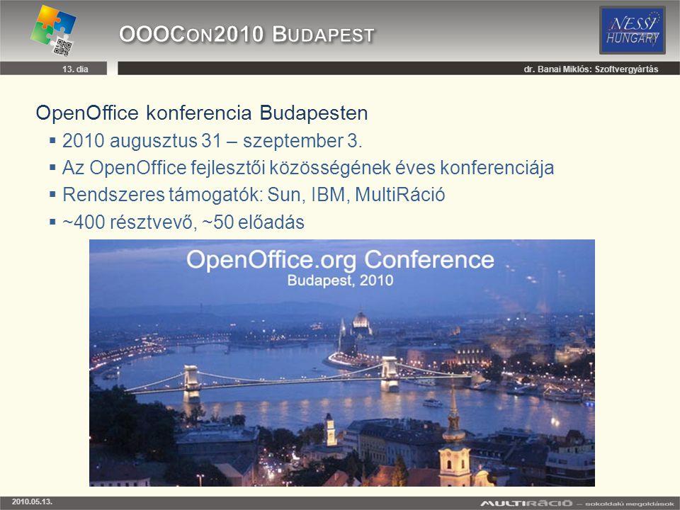 OOOCon2010 Budapest OpenOffice konferencia Budapesten