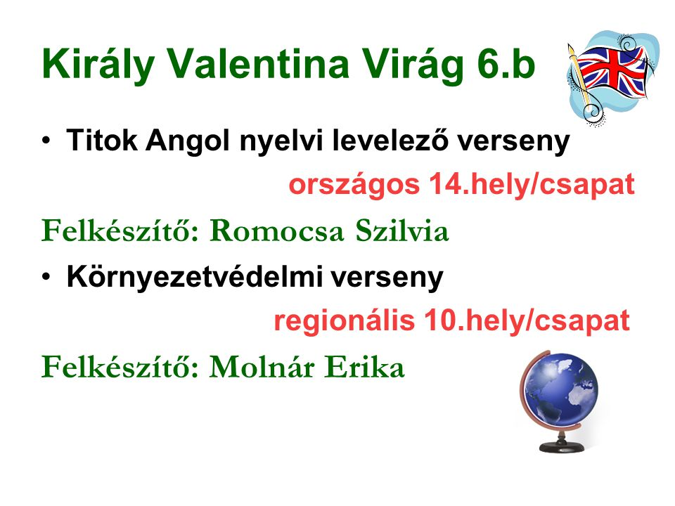 Király Valentina Virág 6.b