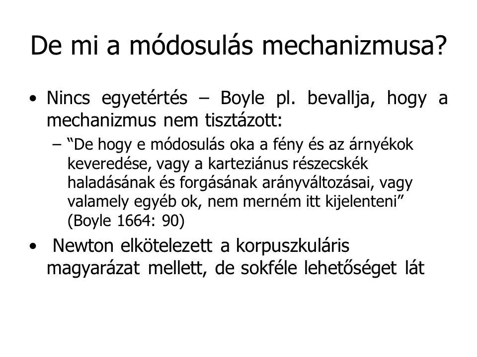 De mi a módosulás mechanizmusa