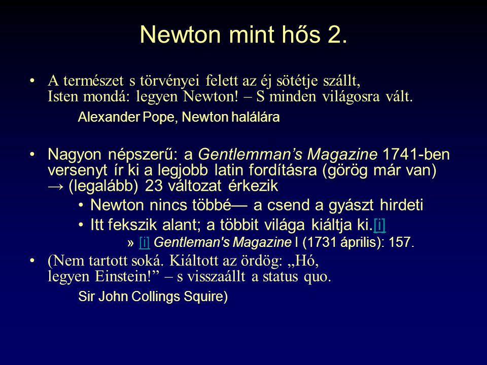 Newton mint hős 2.