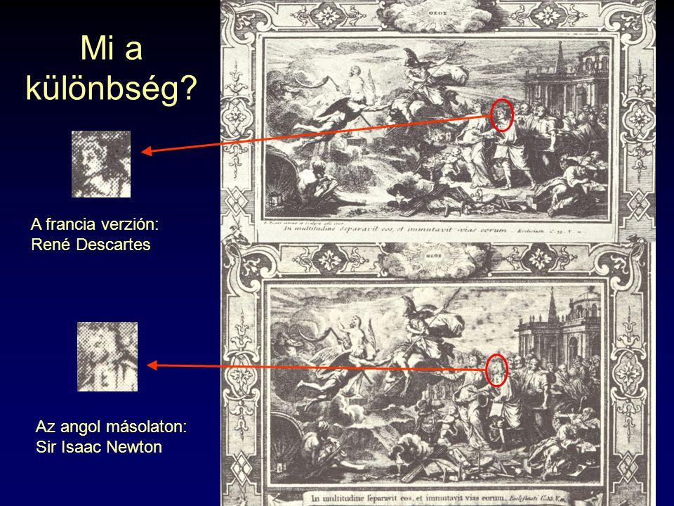 Mi a különbség A francia verzión: René Descartes