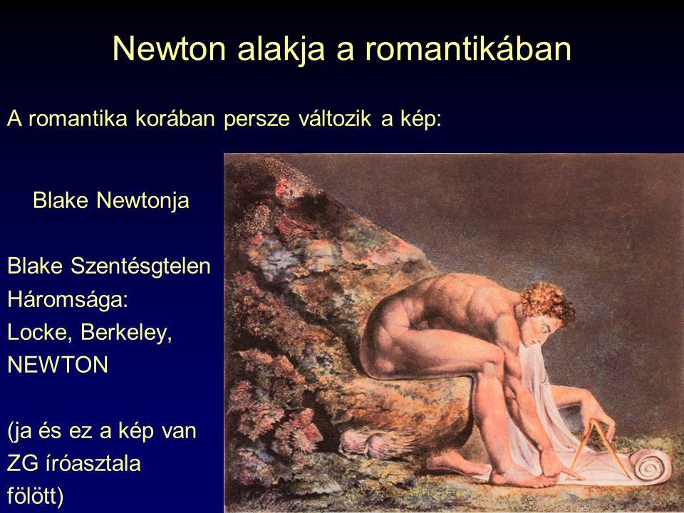 Newton alakja a romantikában