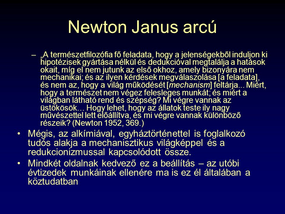 Newton Janus arcú