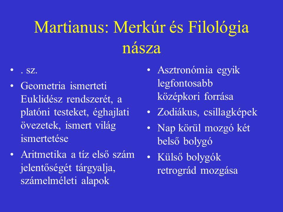 Martianus: Merkúr és Filológia násza