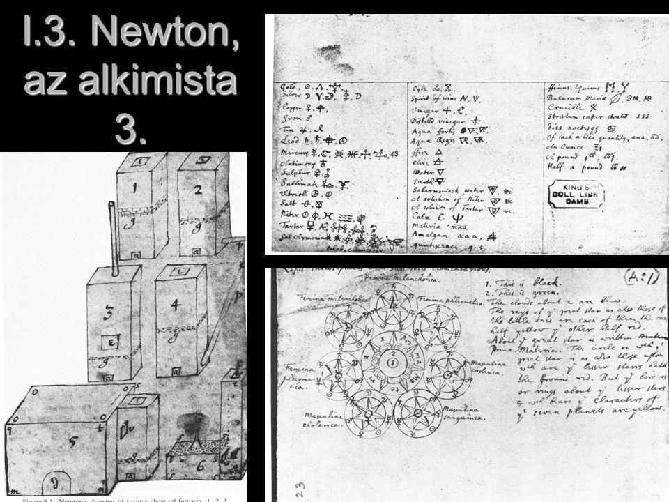 I.3. Newton, az alkimista 3.