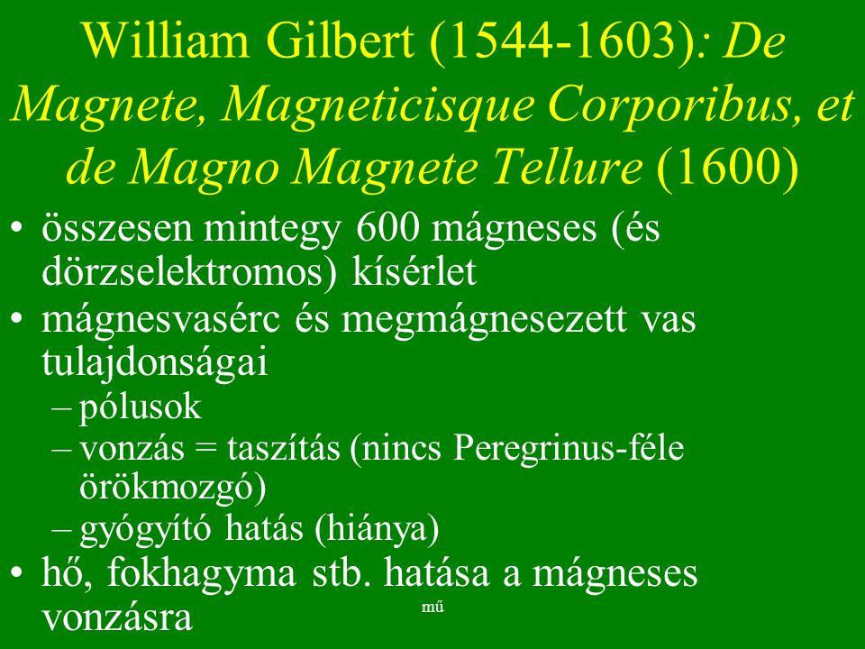 William Gilbert (1544-1603): De Magnete, Magneticisque Corporibus, et de Magno Magnete Tellure (1600)