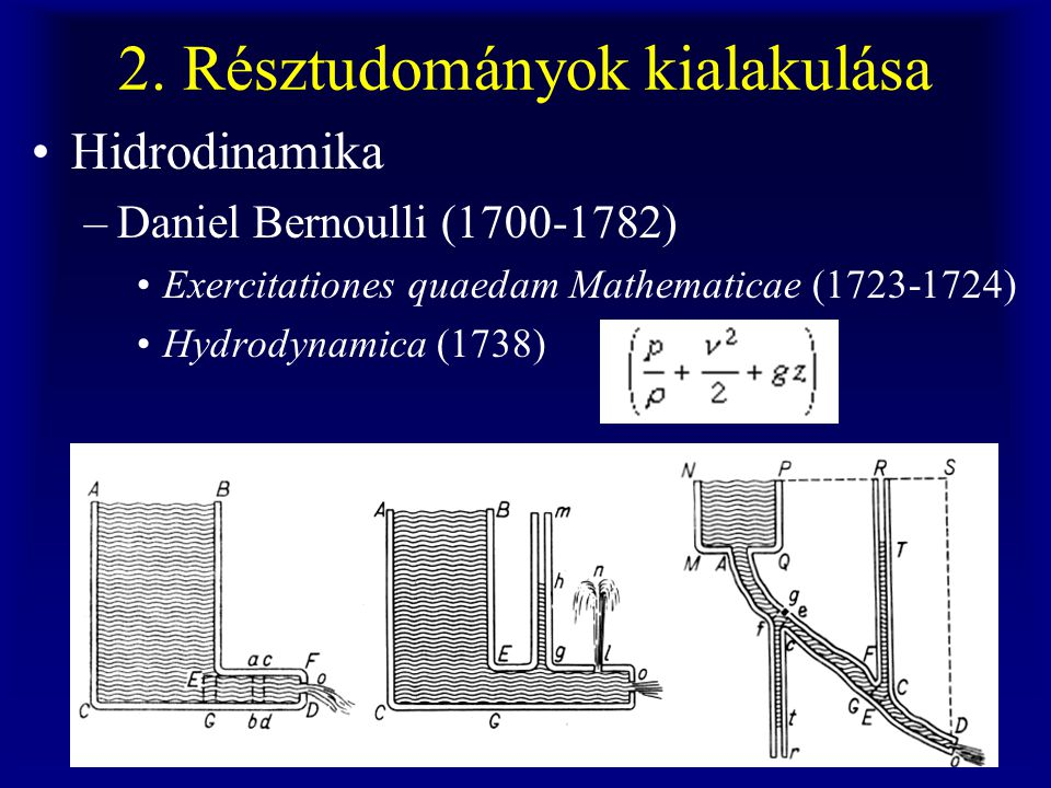 2. Résztudományok kialakulása