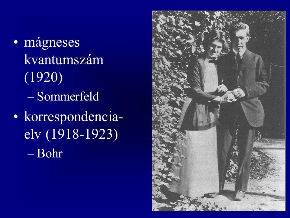 mágneses kvantumszám (1920)