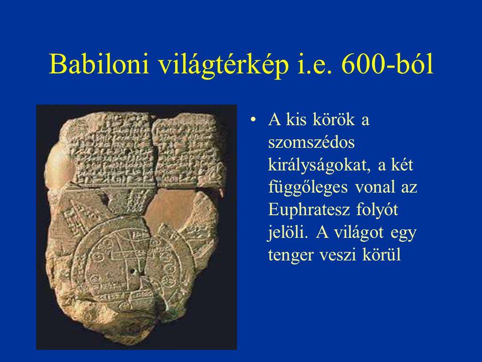 Babiloni világtérkép i.e. 600-ból