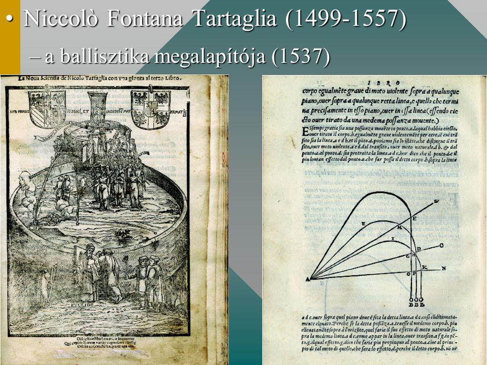 Niccolò Fontana Tartaglia (1499-1557)