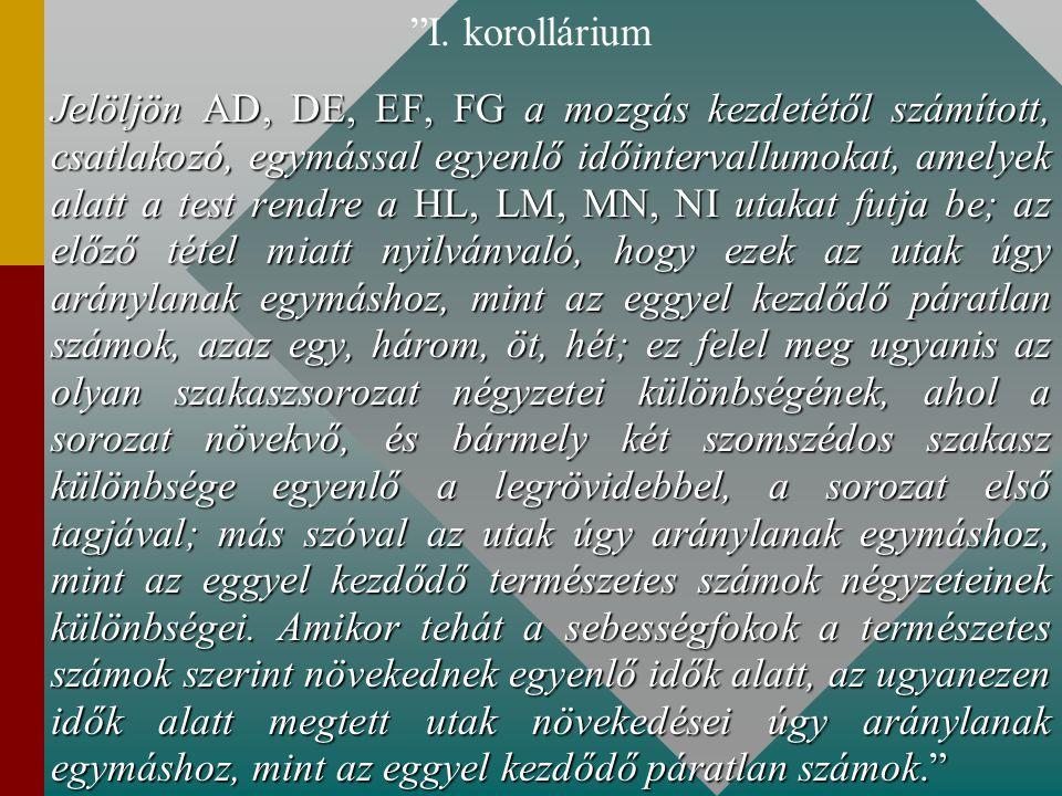 I. korollárium