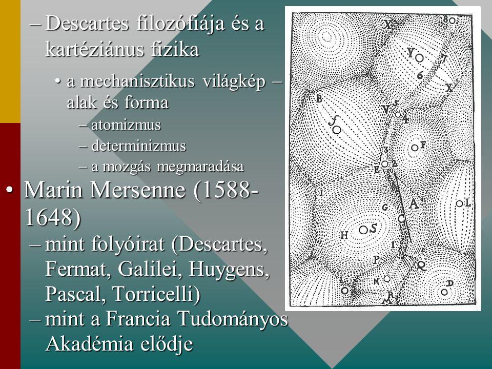 Descartes filozófiája és a kartéziánus fizika