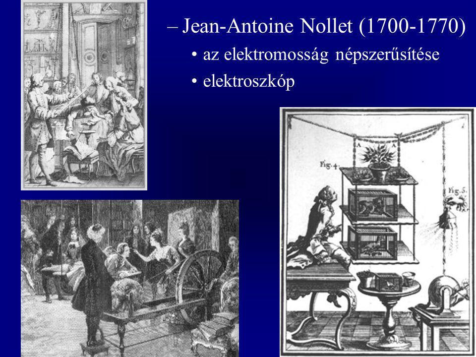 Jean-Antoine Nollet (1700-1770)